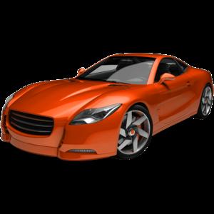 Orange clipart sports car Download images in PNG Orange