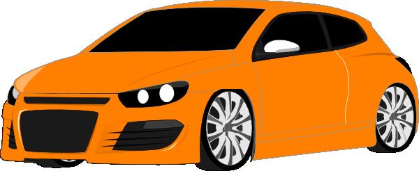 Orange clipart sports car Car Clip com  art