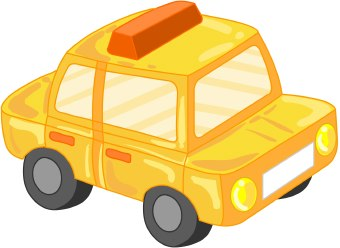 Toy clipart taxi #4