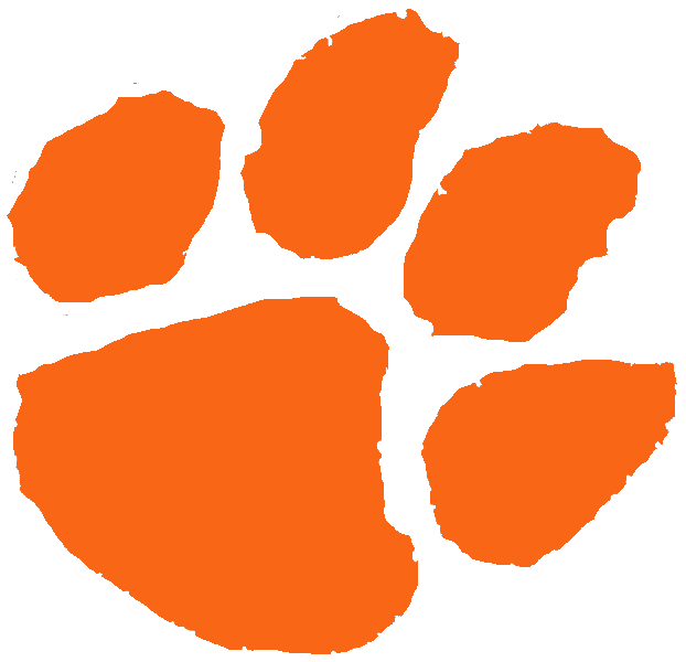 Orange clipart tiger paw Clipart and Others Orange Cliparts