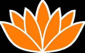 Orange Flower clipart bright flower Lotus Clip Picture Art Bright