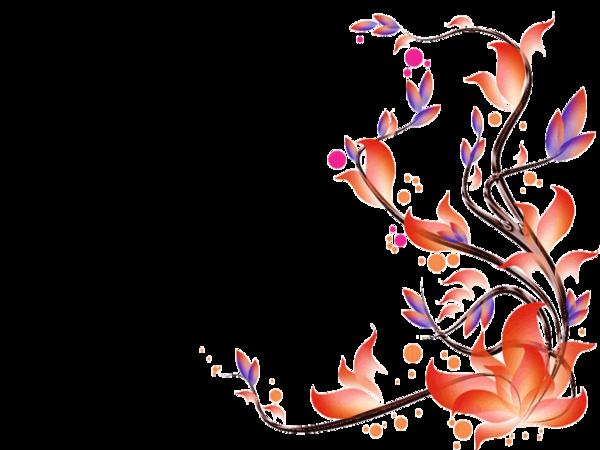 Orange Flower clipart gambar Clker com  clip Free