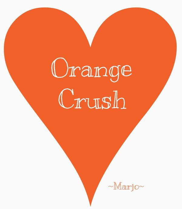 Orange Flower clipart orange things Best you Pinterest Orange on