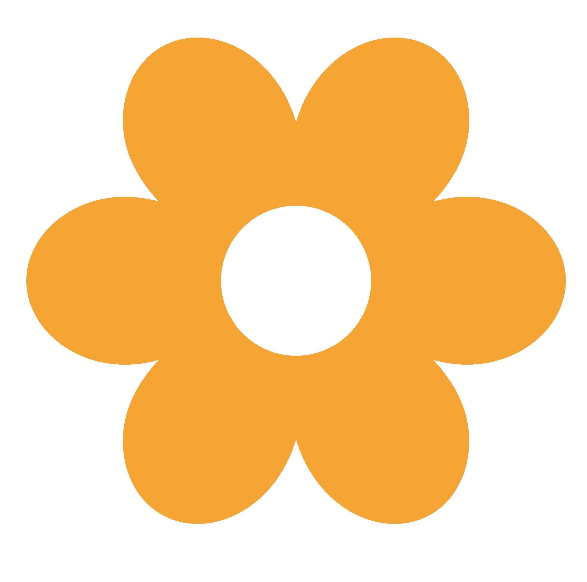 Yellow Flower clipart png format On Art Retro Art Flower