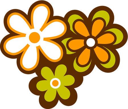 Petal clipart three Clip Clip Flowers Art –