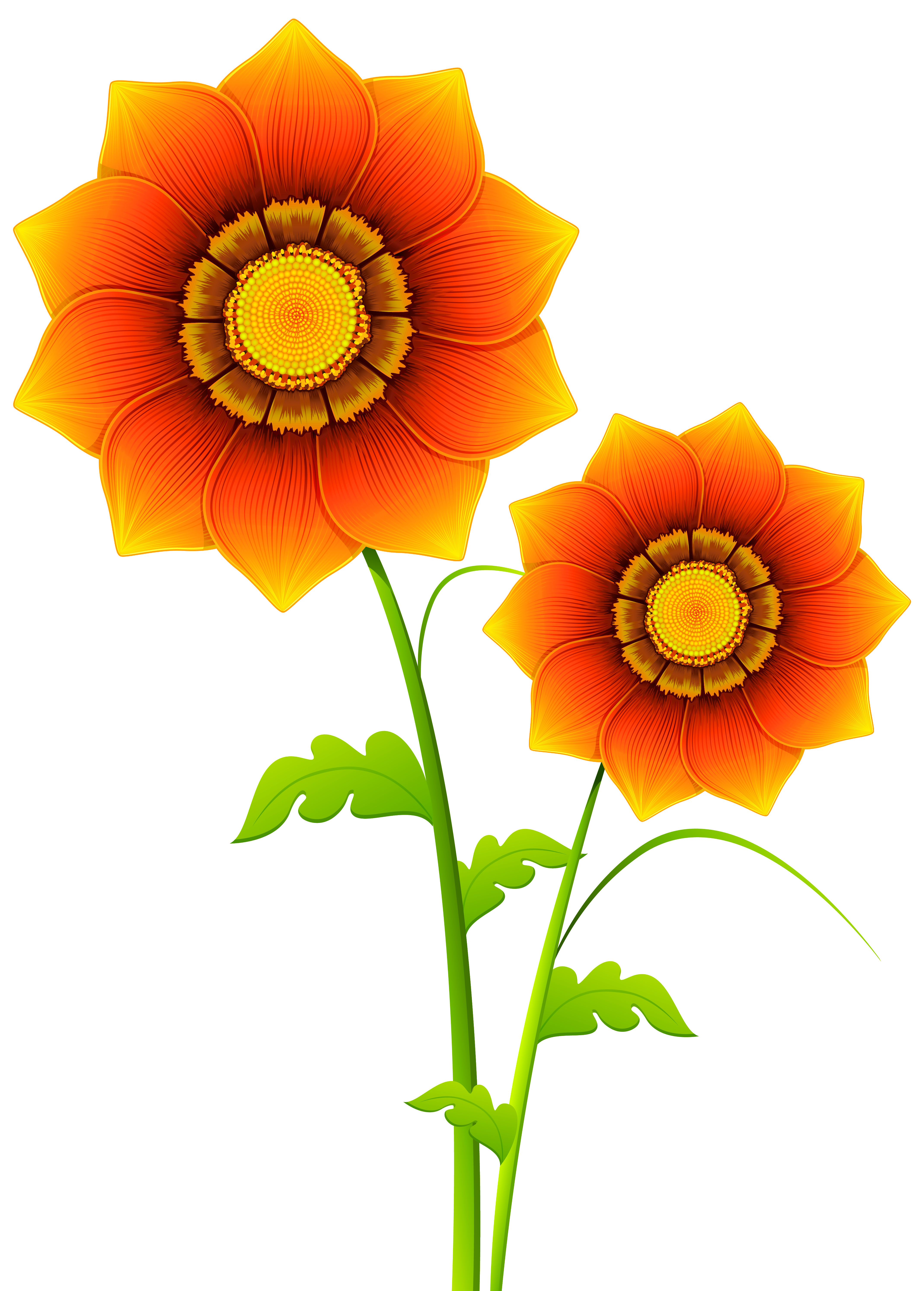Yellow Flower clipart transparent Yopriceville full size Flowers Transparent