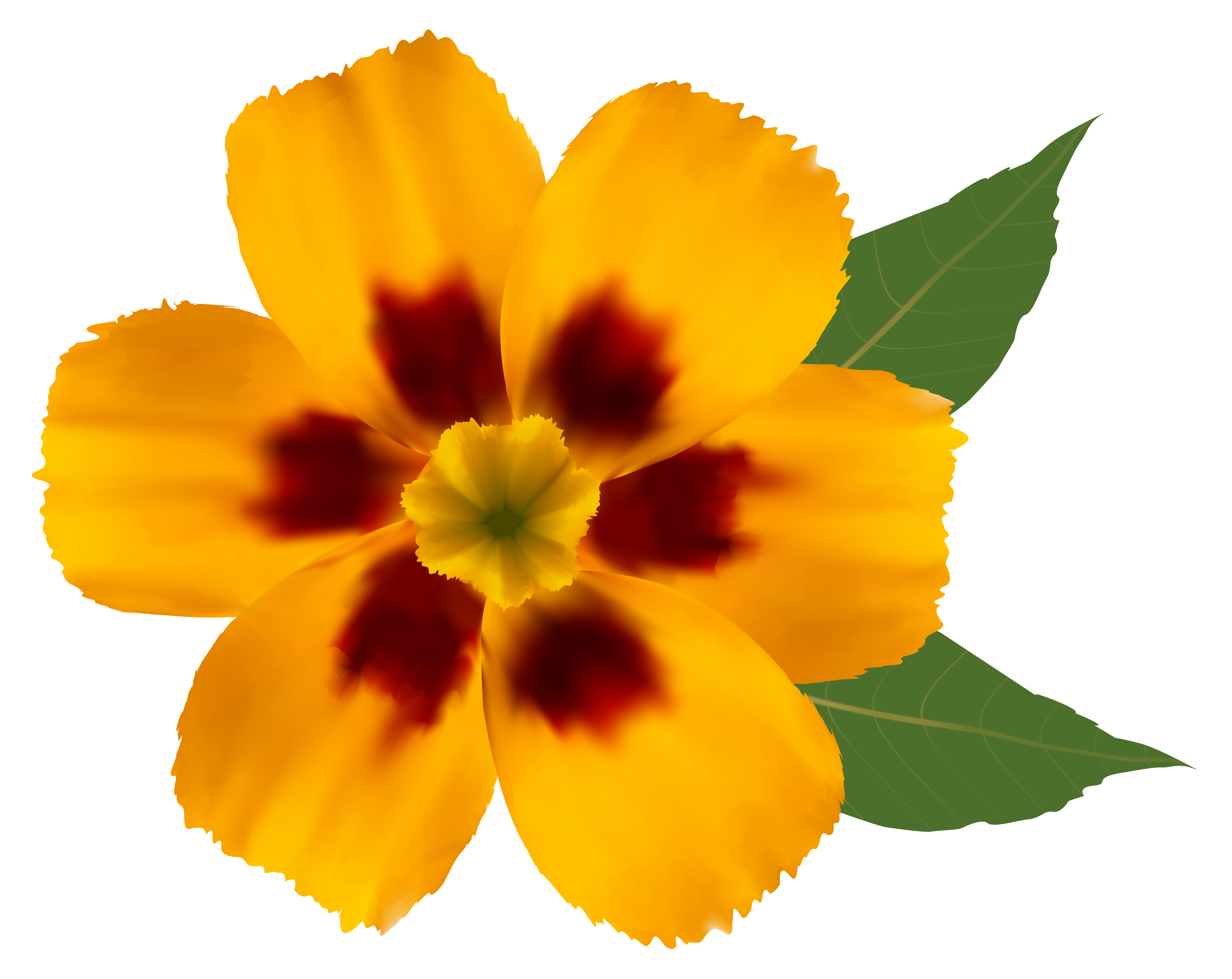 Yellow Flower clipart png format Gallery View full Image Yopriceville