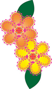 Yellow Flower clipart floral Of Clipart Floral Illustration Flower