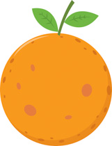 Citrus clipart orange fruit Illustrations Clipart Fruits 80 Free