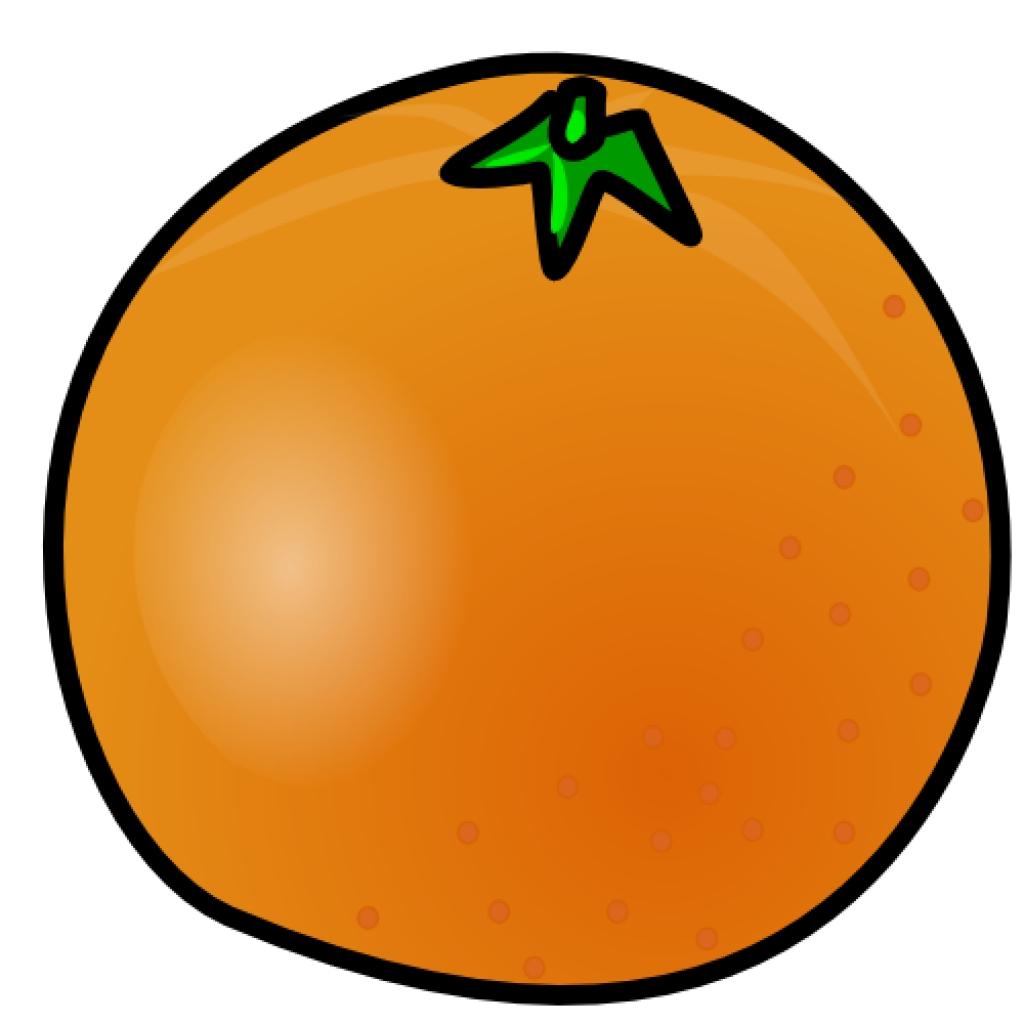 Orange (Fruit) clipart Fruit 1 orange public free