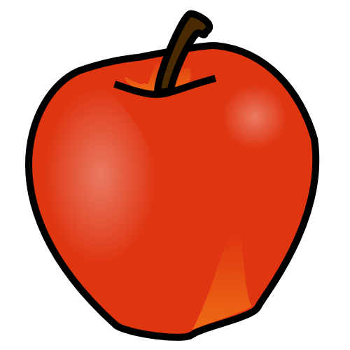 Orange (Fruit) clipart apples and orange Free Download Apple Clipart Fruit
