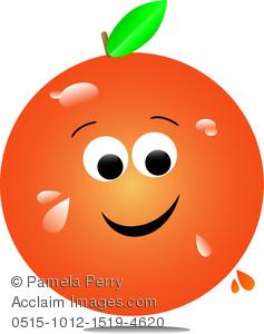 Orange (Fruit) clipart big orange Of a Orange of Orange