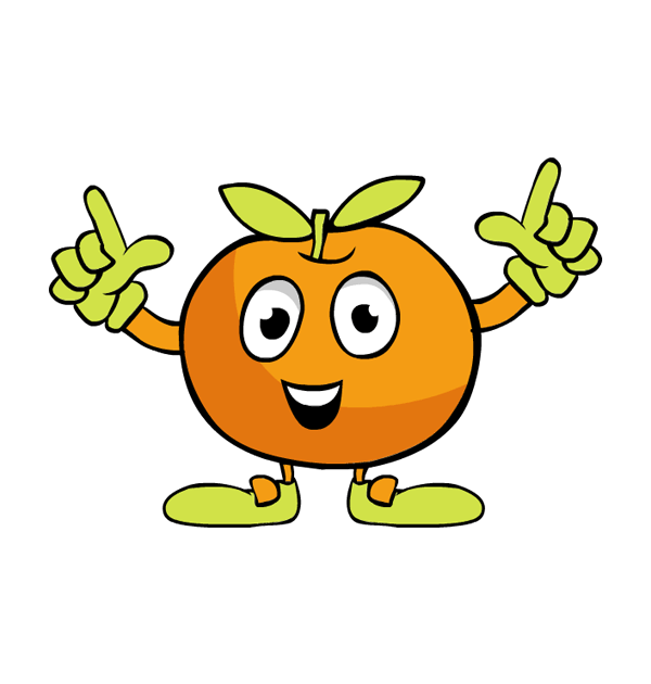Orange (Fruit) clipart big orange Thanksgiving shoes art dancing fruit