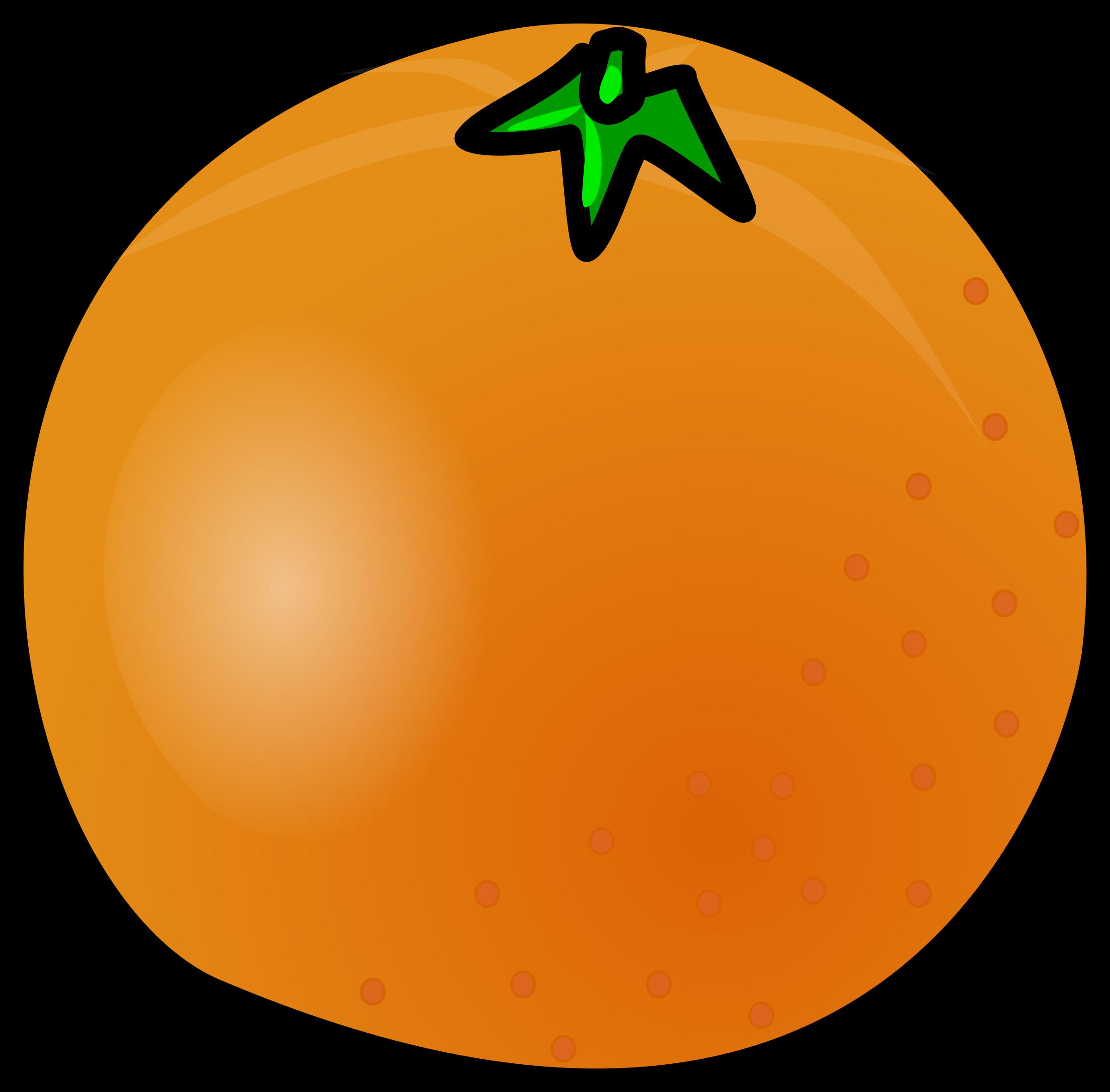 Orange (Fruit) clipart big orange Orange Clipart Orange