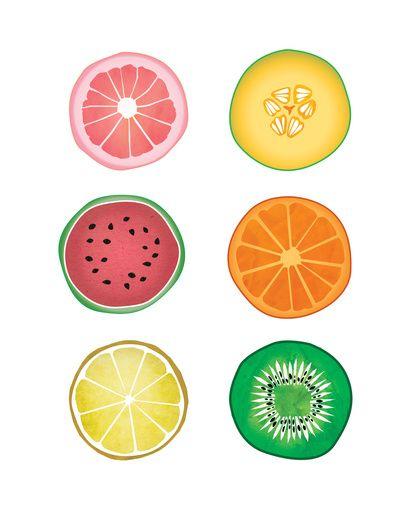 Drawn lemon fruit Fruit Collages Best Pinterest ideas