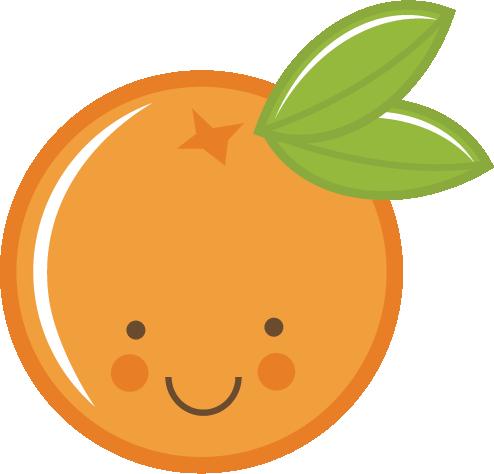 Orange (Fruit) clipart cute Clip svg Orange · art