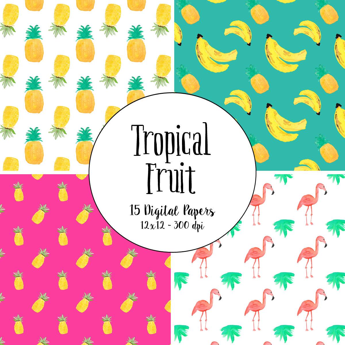 Orange (Fruit) clipart florida Pineapple art florida lemon Watercolor