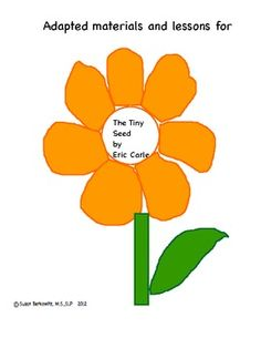 Orange (Fruit) clipart instructional material Therapy SRP: for Language Seed