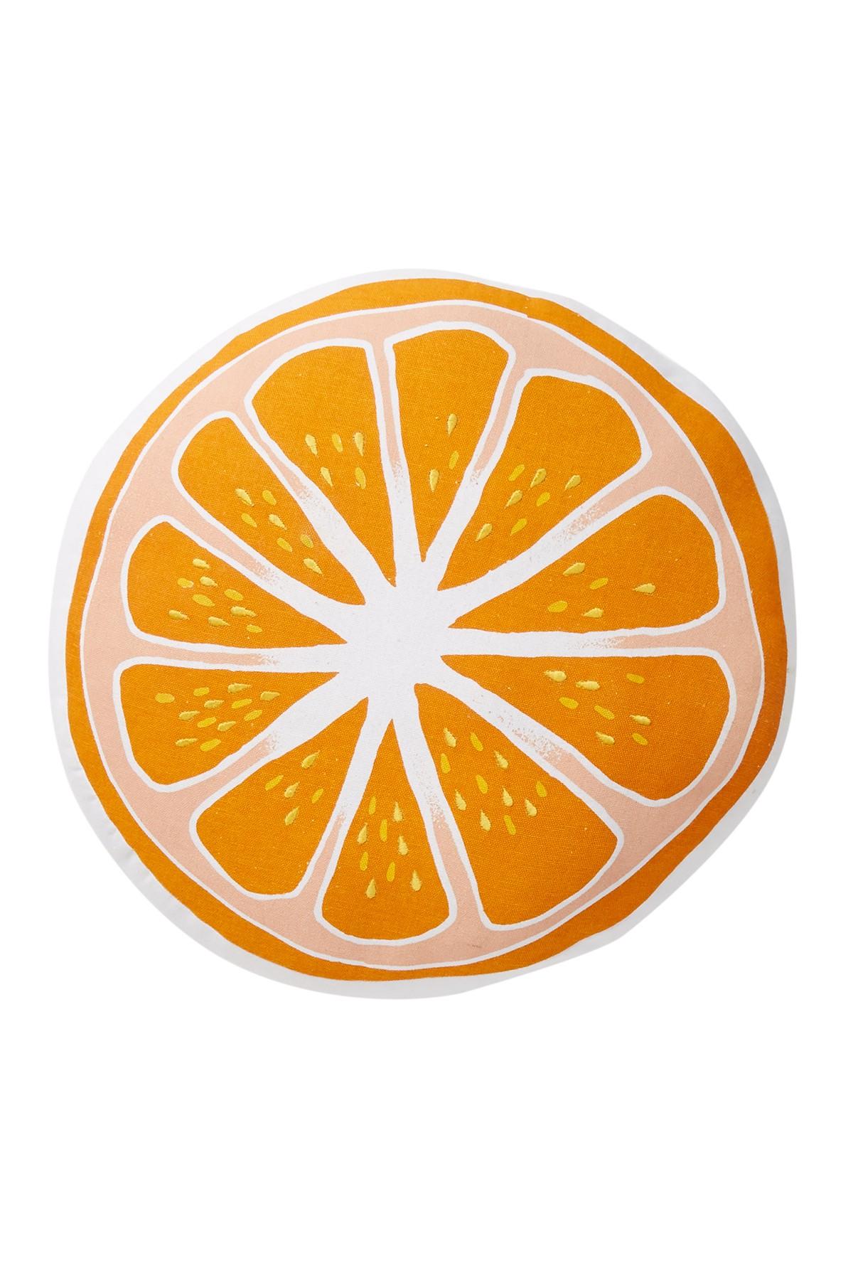 Orange (Fruit) clipart shape Orange Orange of Pillow Fruit