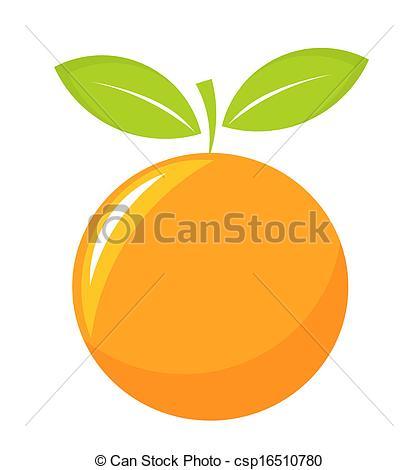 Orange (Fruit) clipart vector Of Orange icon csp16510780 fruit