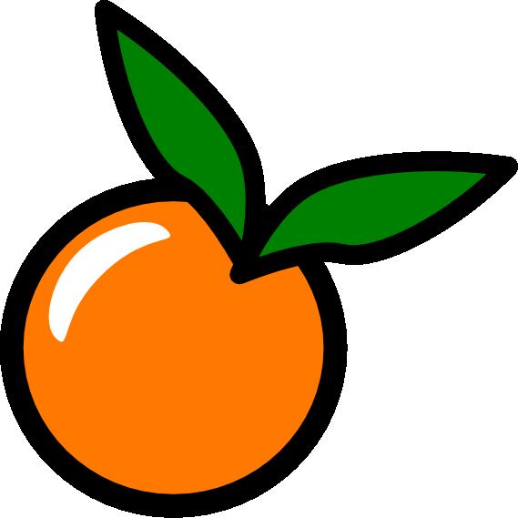 Orange (Fruit) clipart vector #OrangeClipart Fruit art clipart clip