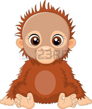 Orangutan clipart orange Free Clipart Clipart 27 Orangutan