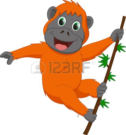 Orangutan clipart orange Free Clipart Clipart 57 Orangutan