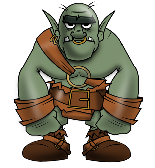Orc clipart #1
