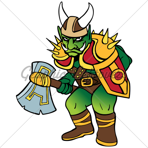 Orc clipart #10
