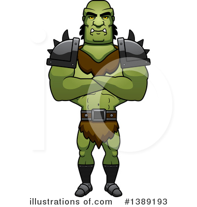 Orc clipart #9