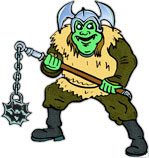 Orc clipart #6