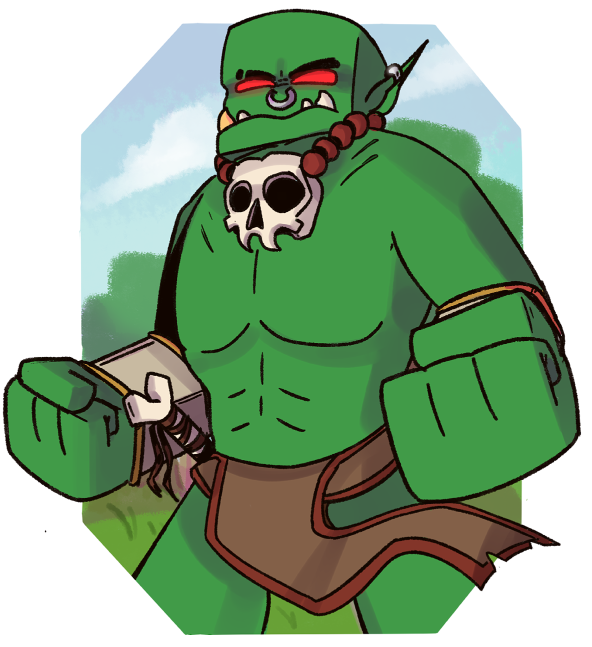 Orc clipart #12