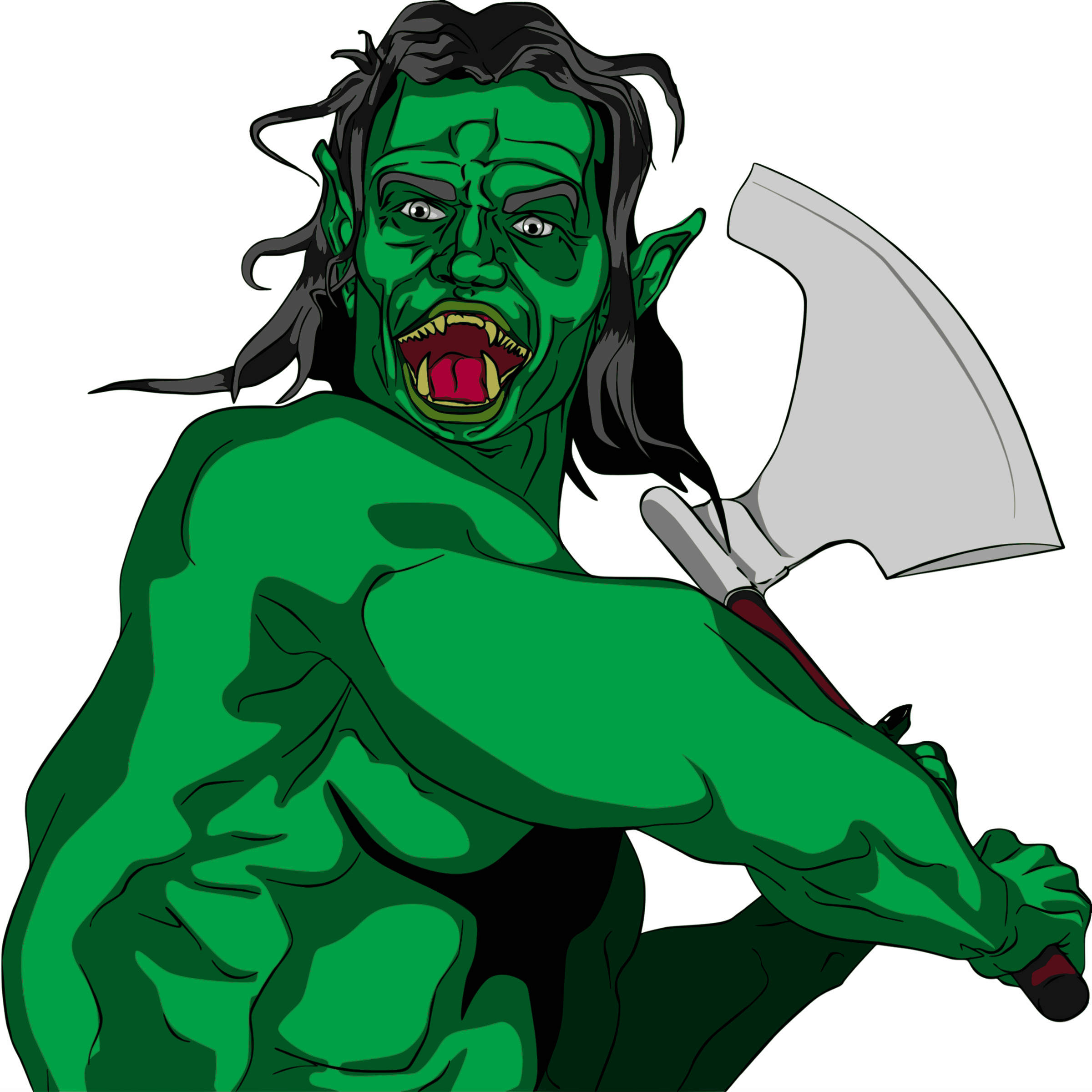 Orc clipart #13