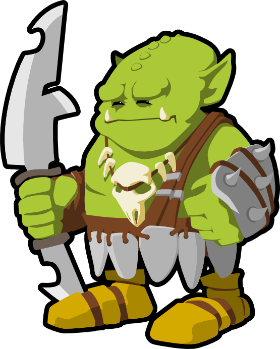 Orc clipart #2