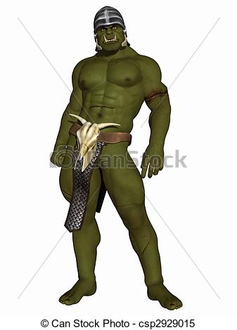 Orc clipart #11