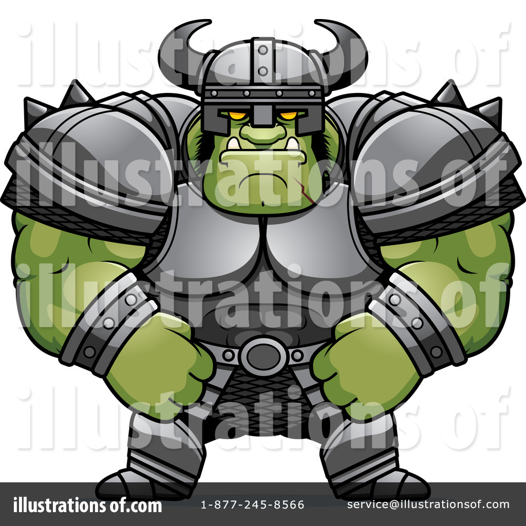 Orc clipart #5