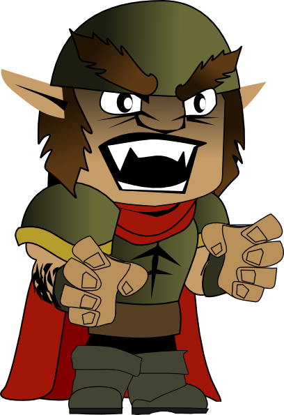 Orc clipart #4