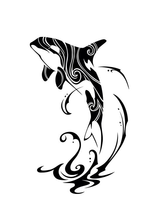 Orca clipart tribal DeviantArt on Tribal 2015 Orca