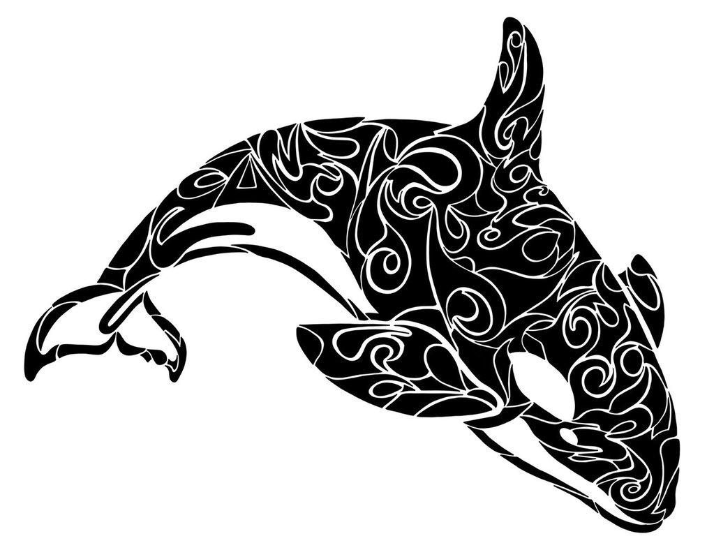 Orca clipart tribal DeviantArt on Tribal by Orca