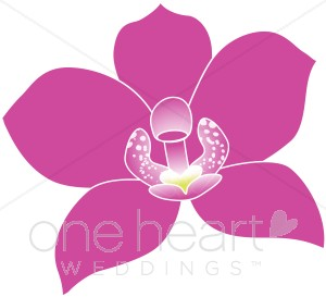 Orchid clipart #11