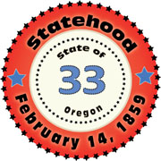 Oregon clipart US Oregon States: Graphics Illustrations
