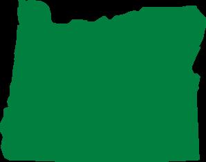 Oregon clipart Clker vector com  art