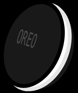 Oreo clipart black and white Download Oreo Clip White Cliparts