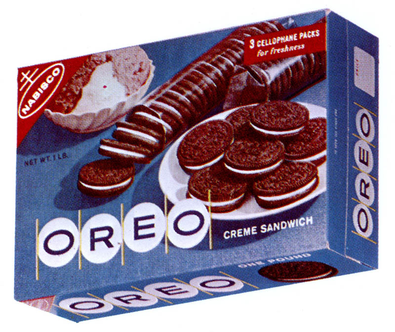 Oreo clipart box Vintage oreo  Nabisco packaging
