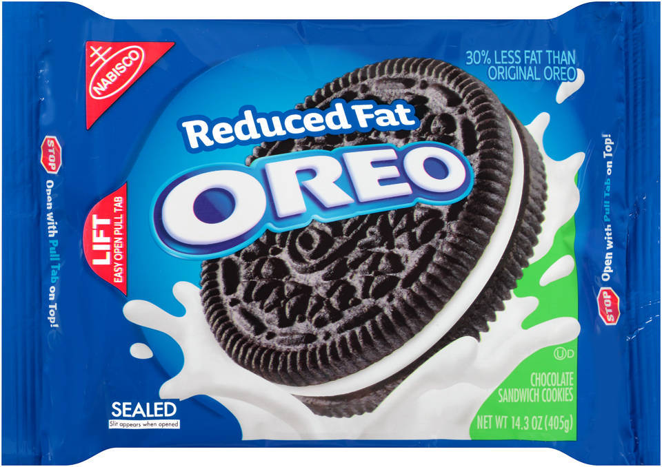 Oreo clipart box Fat 14 Sandwich Cookies Chocolate