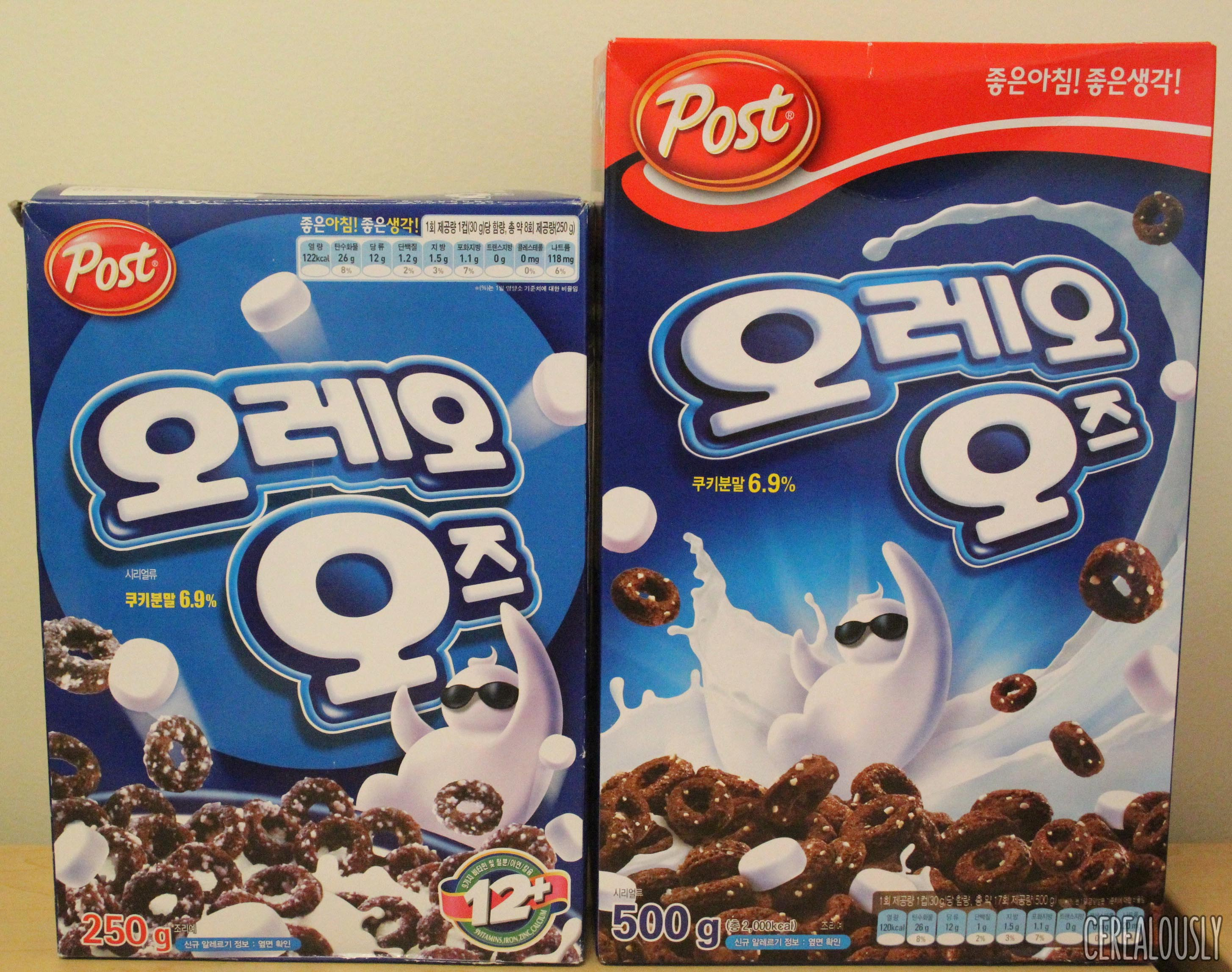 Oreo clipart box Cereal Oreo South Korean 2016