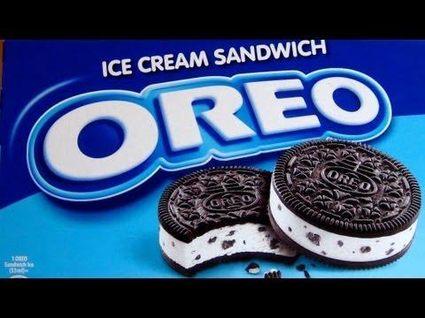 Oreo clipart ice cream sandwich Ice Sandwich Klondike YouTube Cream