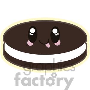 Oreo clipart oreo cookie Cartoon Free cookie art Cookie