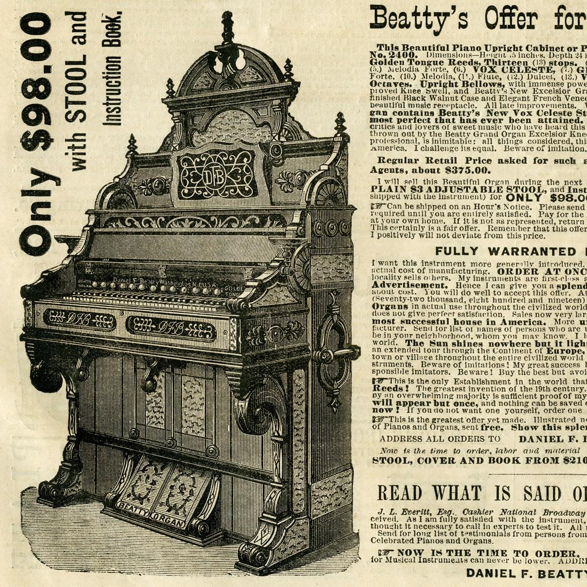 Organs clipart antique Treasury Image Ad Free Design
