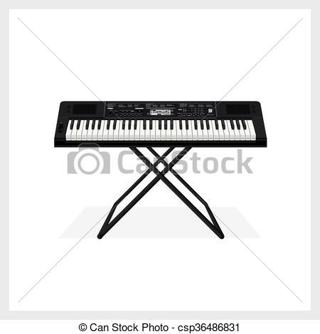 Organs clipart keyboard instrument Instrument Vectors Vector Vector Vector
